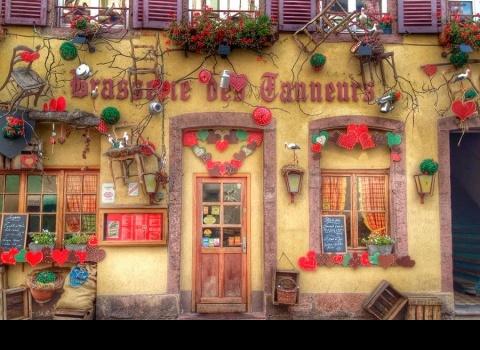 Кольмар — очень уютный город Франции