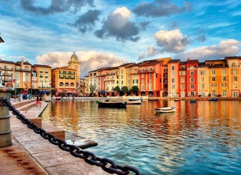 Портофино (Италия). Для Портофино характерна значительно мягкая зима и ясное лето со средней дневной температурой около 28°C
