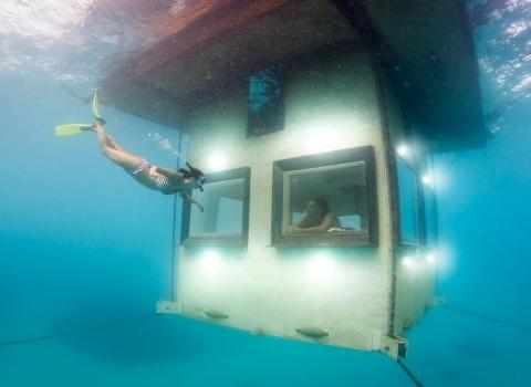 Floating Hotel In Zanzibar (Плавающий отель в Занзибаре)