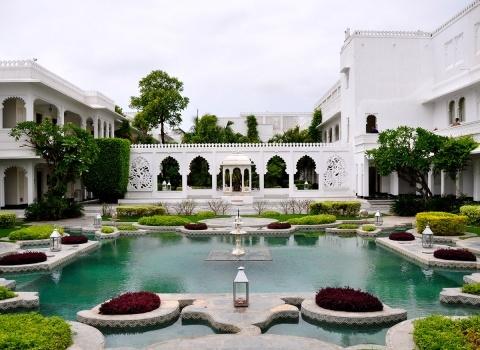 Площадь отеляTaj Lake Palace 16 000 м²