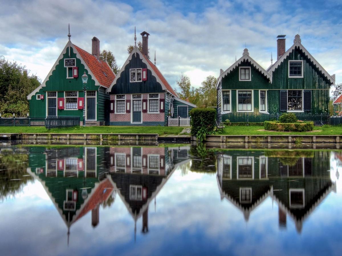 Гитхоорн (Giethoorn)  (Нидерланды)