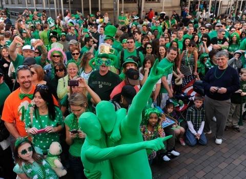День святого Патрика, покровителя Ирландии отмечается 17 марта